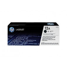 HP 12A Black LaserJet Toner Cartridge(Q2612A)