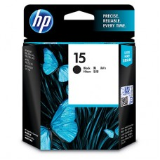 HP 15 Black Ink Cartridge