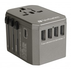 Verbatim 5 Ports Travel Adaptor