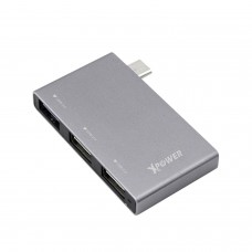 XPOWER Type-C & Micro USB 2 in 1 USB 3.0 Hub
