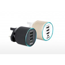 XPOWER 4-port Type-C & USB Travel Charger